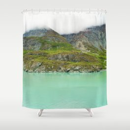 Glacier Bay Wilderness Alaska Shower Curtain