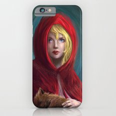 Red and Little Wolf iPhone 6s Slim Case