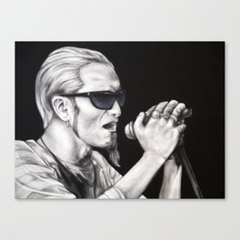 Layne Staley - Alice in Chains Canvas Print