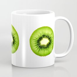 Kiwi Fruit Slice Coffee Mug