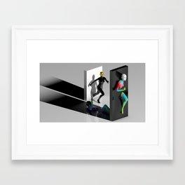 Portal(s) Framed Art Print