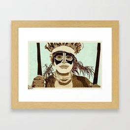 Tribesmen Framed Art Print