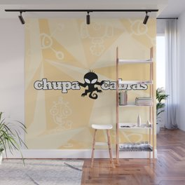 CHUPACABRAS - Light Yellow Edition Wall Mural
