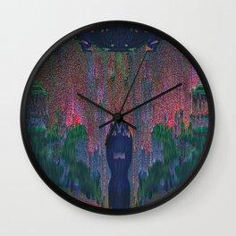 Glitch Ritual II Wall Clock