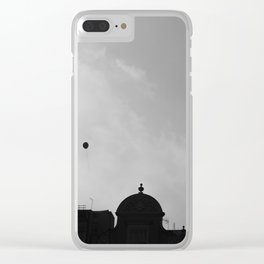 Floating Away. Clear iPhone Case