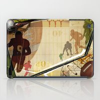 football iPad Cases featuring Football by Robin Curtiss