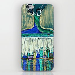 Paint the Town iPhone Skin