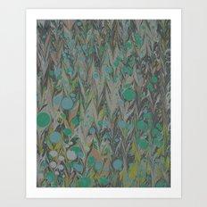 Marble Print #28 Art Print