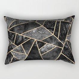 Black Stone 2 Rectangular Pillow