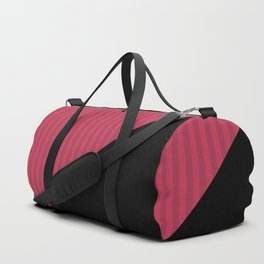 Black , red , triangles Duffle Bag