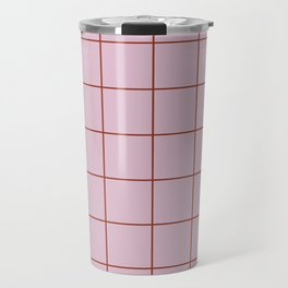 Citymap Grid - Lilac/Rust Travel Mug
