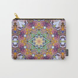 Symmetrical Colors Abstract Carry-All Pouch