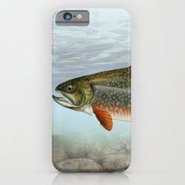 Lurking Fish iPhone Case