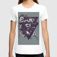 barcelona T-shirts featuring Barcelona by Giga Kobidze