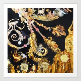 Gilded Cultivation Art Print