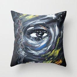 Eye on my Mood Throw Pillow