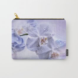 Weiße Orchideen Carry-All Pouch