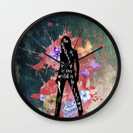 Buffy Quote Wall Clock