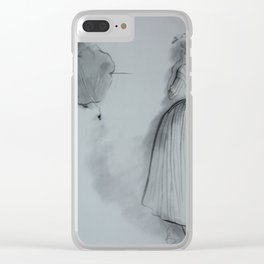 2 Ladies at Ball Clear iPhone Case