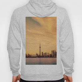 Golden Sunset Cityscape (Color) Hoody