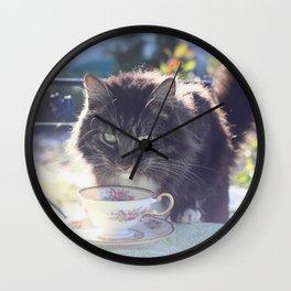 One Little Sip Wall Clock