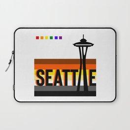 Seattle Bear Pride LGBT flag  Laptop Sleeve
