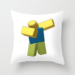Coolest Roblox Dab Throw Pillow