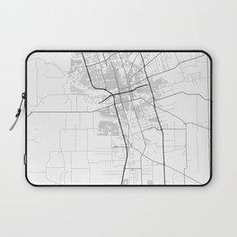 Minimal City Maps - Map Of Stockton, California, United States Laptop Sleeve