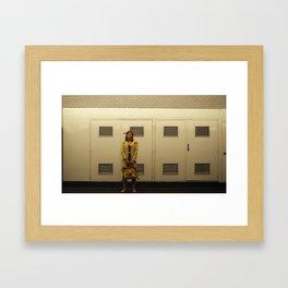 Alone in Paris Framed Art Print