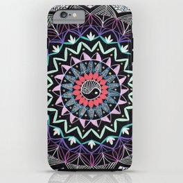 Color Mandala iPhone Case