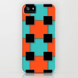 Cubist Cat iPhone Case