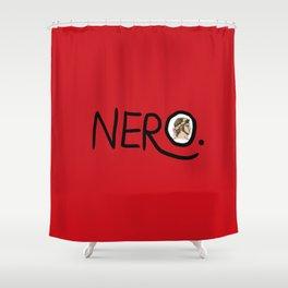 Nero Shower Curtain
