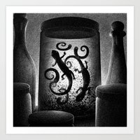 Drawlloween 2015: Witch Art Print