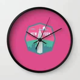 NEW YORK (I LOVE USA SERIE) Wall Clock