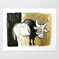 Gaur (full) Art Print