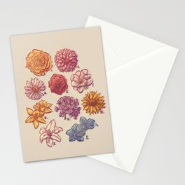 10 Flowers Stationery Cards