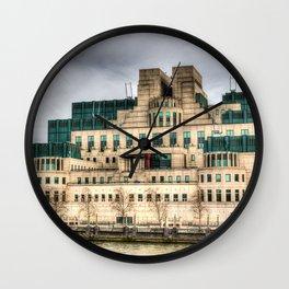 MI6 Building London Wall Clock