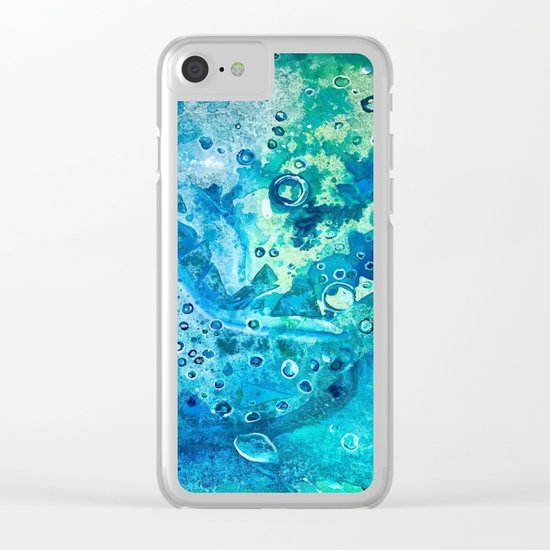 Environment Love View from Their Eyes Clear iPhone Case