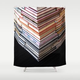 Extensive Reading Shower Curtain