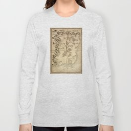 Map of Aemogen Long Sleeve T-shirt