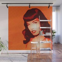 Bettie - Pin-up - Pop Art Wall Mural