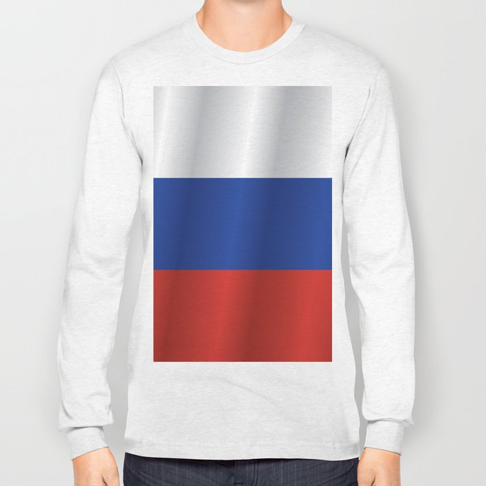 Flag of Russia Long Sleeve T-shirt