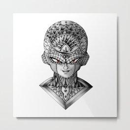 Ornate Frieza Metal Print