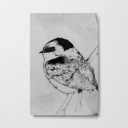 The stippled swallow #3 Metal Print