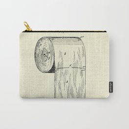 Toilet Paper Roll-1891 Carry-All Pouch