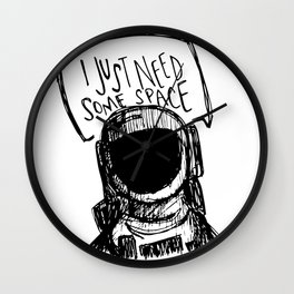just need space. Wall Clock