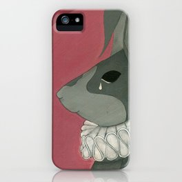 the half hearted woman iPhone Case