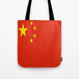 Flag of China Tote Bag
