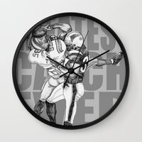 GREATEST CATCH EVER Wall Clock