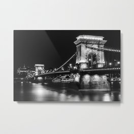 The charm of Budapest Metal Print